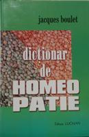 Dicţionar de homeopatie
