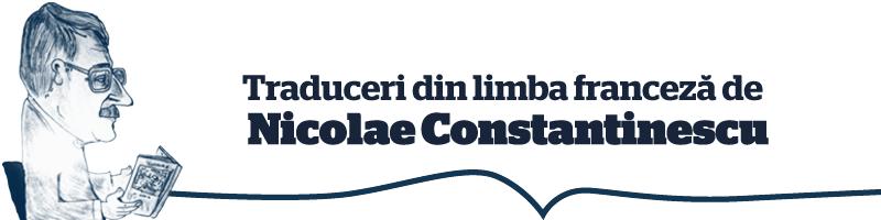 Nicolae Constantinescu traduceri din limba franceza